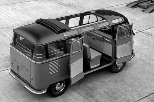 Stilikone Nr. 1 auf der Straße: Der VW Samba von 1951